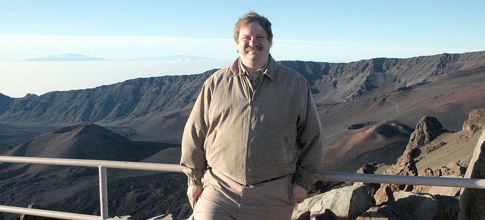 [Photo: Bill Herrin atop Haleakala on Maui]